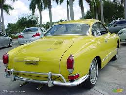 1971 Canary Yellow Volkswagen Karmann Ghia Coupe 20289159 Photo