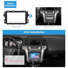 nissan murano bluetooth audio quality double din 2008 2014 nissan murano car radio fascia stereo