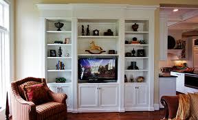 wall units inspiring built in bookshelves with tv built 3