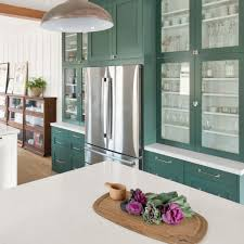 ikea frosted glass kitchen cabinets achieve the glass front cabinet look with semihandmade