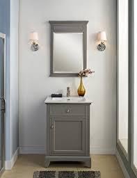 Bathroom Vanity Side Lights Mesmerizing Gray Vanity To Enhance The Of Bathroom Fajah
