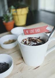 mug cakes with printable father u0027s day tags u2013 a subtle revelry