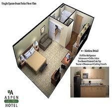 Hotel Suite Floor Plans Single Queen Floor Plan Picture Of Juneau Aspen Suites Hotel