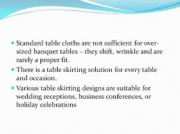 Cloth Table Skirts by Mrs Gigi D Garcia Table Skirting Table Skirting As The Name