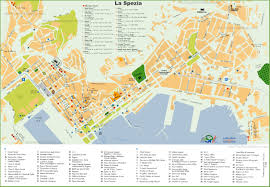 Map Of Genoa Italy by La Spezia Hotel Map