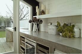 Tile Kitchen Countertops Kitchen Counters Concrete The Nearly Indestructible Option