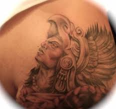 simple aztec warrior tattoo tattoos book 65 000 tattoos designs