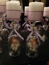 centerpieces for bautizo home design marvelous religious table decorations best 25