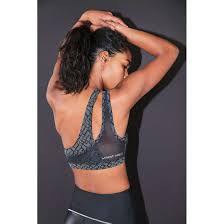 Without Walls Clothing by Without Walls Reflective One Shoulder Sports Bra Bra4her