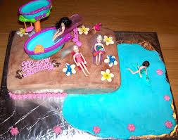 pool party cakes u2013 decoration ideas birthday cakes