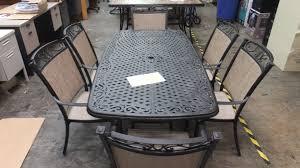 Hampton Bay Patio Chairs by Hampton Bay Santa Maria 7 Piece Dining Patio Set 499 99