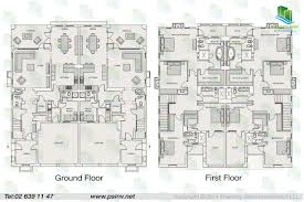 bed 4 bedroom duplex floor plans