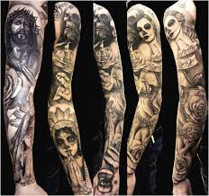 images of religious sleeve tattoos images modern
