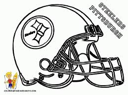 nfl logo coloring page printable pages click the to view football