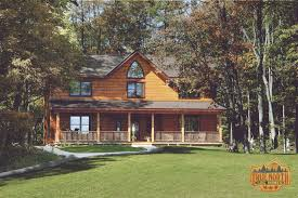 Log House Plans Custom Log Home Cabin Plans Prairie Log Homes