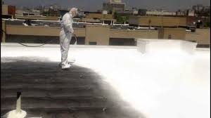 Surecoat Roof Coating by Commercial Roofing Los Angeles Cool Roof Coatings Youtube