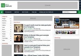 mblog blogger template my websites templates free blogger