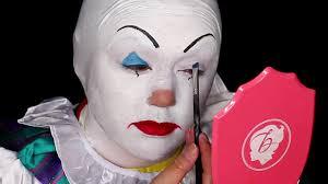 killer clown makeup halloween pennywise killer clown makeup tutorial youtube