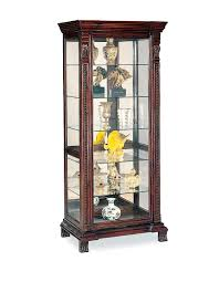 Beveled Glass China Cabinet Amazon Com Coaster Glass Shelves Curio China Cabinet Cappuccino