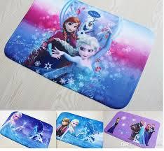 Disney Doormat Frozen Memory Foam Doormat Anti Slip Rug Floor Mat Bathroom