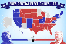 Map Of Election Results by Election 2016 Election Results Updates And Exit Polls
