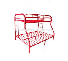 red twin over full metal bunk bed metal home bed buy metal bed