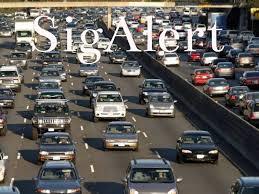 sigalert overturned car snarls 210 freeway and metro gold line