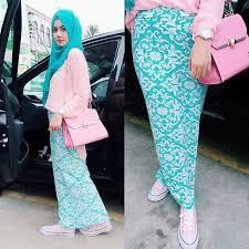 rok panjang muslim 17 contoh model busana muslim setelan rok panjang modis
