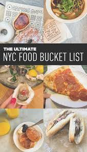 ultimate nyc food list 49 places to eat in nyc