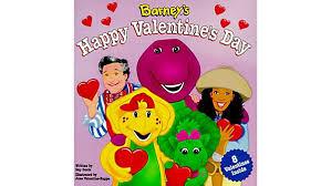 put u201d barney u0027s happy valentines u201d family