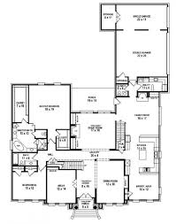 5 bedroom house plan 4 bedroom 3 bath house plans corglife one story beau luxihome