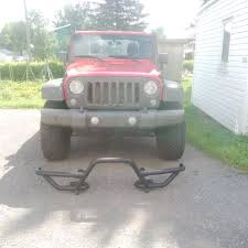 jeep prerunner bumper rugged ridge wrangler rrc mount for xhd front bumper w 7 in
