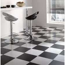 Black And White Ceramic Floor Tile Contrast Satin Ceramic Floor Tiles 330 X 330mm White 9 Pack