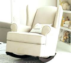 Modern Rocking Chair Nursery Modern Upholstered Rocking Chair Baby Room Rocking Chair Glider