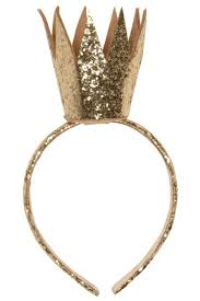 gold headband kate mack f15 gold glitter crown headband now in stock