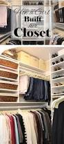 How To Organize Clothes Without A Closet How To Build Out A Closet Using Every Available Inch And Without