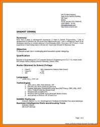 different types of resumes resume ideas