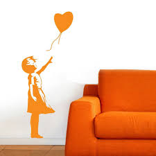 aliexpress com buy banksy wall decal balloon girl inspired aliexpress com buy banksy wall decal balloon girl inspired banksy vinyl wall art sticker from reliable wall art stickers suppliers on poomoo decor