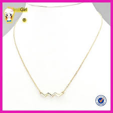 light chain necklace images Hot sale light weight gold chain necklace design for young girl jpg