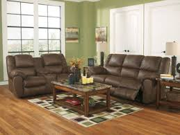 Faux Leather Recliner Henning Modern Brown Faux Leather Recliner Sofa Set Living
