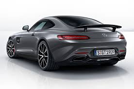 mercedes gt amg 2016 2016 mercedes amg gt kicks with edition 1 model