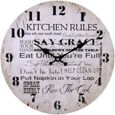 Shabby Chic Wall Clocks by Space Shabby Chic Wall Clock Kitchen Rules