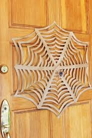 halloween craft giant kirigami spider webs babble dabble do