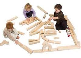 large wooden pieces wooden unit blocks construction