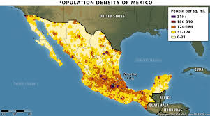 map of mexico cities us mexico border cities lined up to scale oc 6376x1600 mapporn