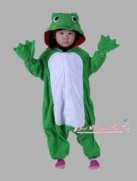 Kids Cat Halloween Costumes 1510 Japan Kawaii Cartoon 3d Frog Pajamas Pyjamas Kids Animal
