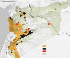 Syria On A World Map by In Syrian War Russia Has Yet To Fulfill Superpower Ambitions