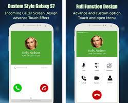 samsung galaxy dialer apk caller screen galaxy s6 s7 id apk version 1 10