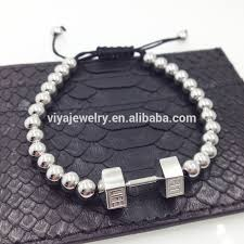 stainless charm bracelet images 316 stainless steel fitness charm bracelet fitness jewelry jpg