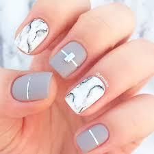 matte fall color nails glamour nail salon